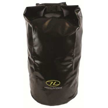 Highlander Outdoor Tri-Laminate PVC Dry Bag Large - Black