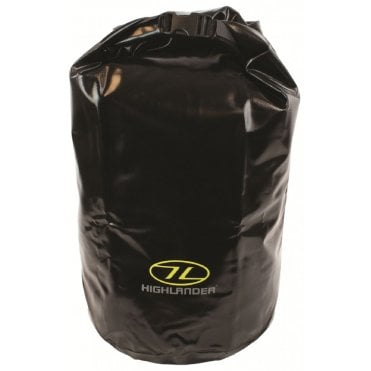 Highlander Outdoor Tri-Laminate PVC Dry Bag Medium - Black