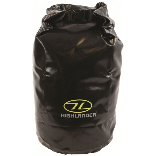 Highlander Outdoor Tri-Laminate PVC Dry Bag Small - Black