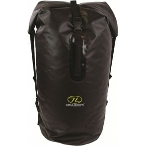 Highlander Outdoor Troon Drybag Duffle 70 - Black