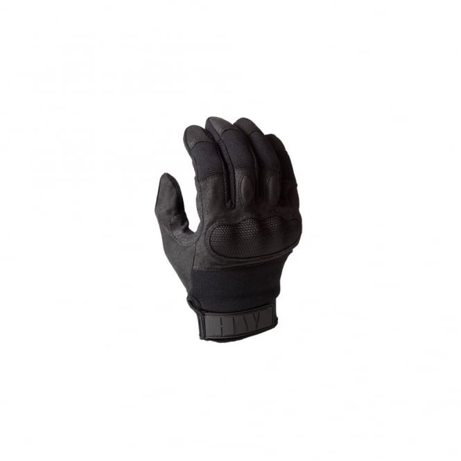 HWI Touchscreen Hard Knuckle Glove Black
