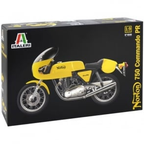 Italeri 1/9 1967 Norton Commando Motorcyle Model Kit
