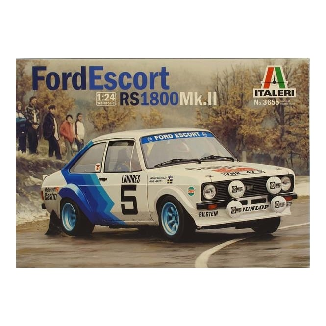 Italeri Ford Escort Mk II Rally
