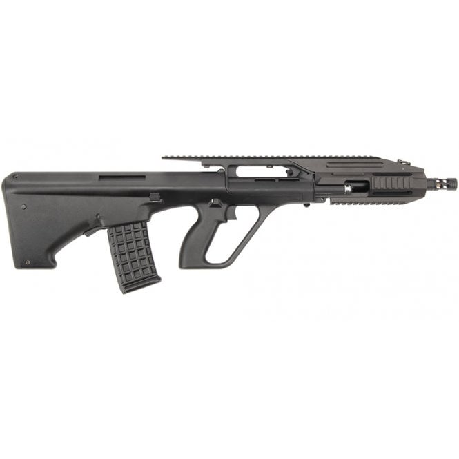 Jing Gong 0450B AUG A3 RIS Bullpup AEG Rifle - Black