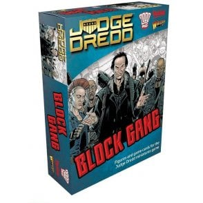 Judge Dredd Game - Block Gang Figures & Game Cards