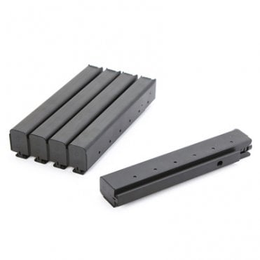 King Arms M1A1 60 Rounds Magazine - Box Set 5 Pack