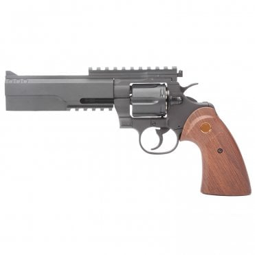 King Arms Python 357 Evil Revolver (Gas version)