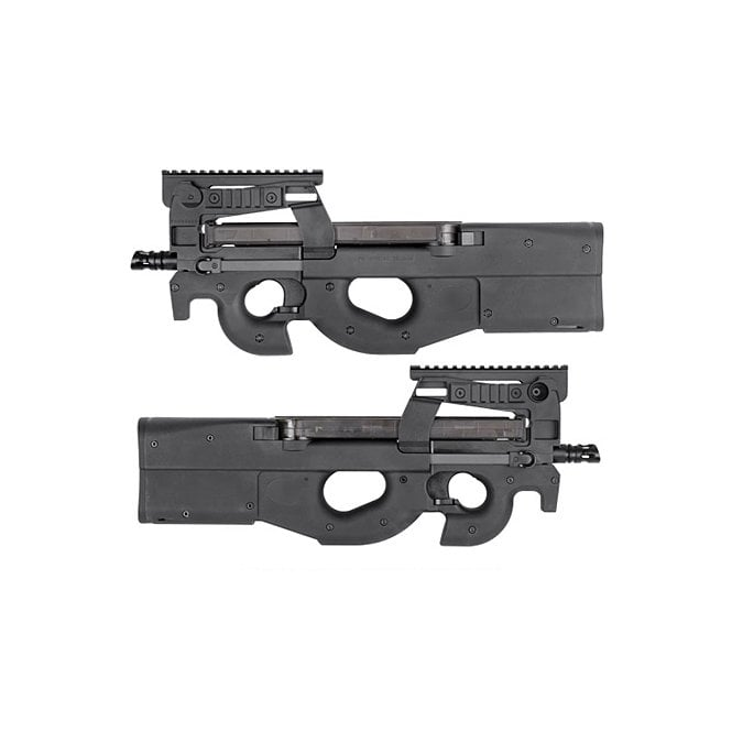 King Arms Kings Arms M3 (FN P90) Tactical AEG Rifle - Black