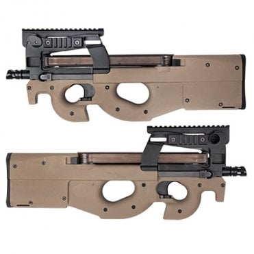 Kings Arms M3 (FN P90) Tactical AEG Rifle - Dark Earth