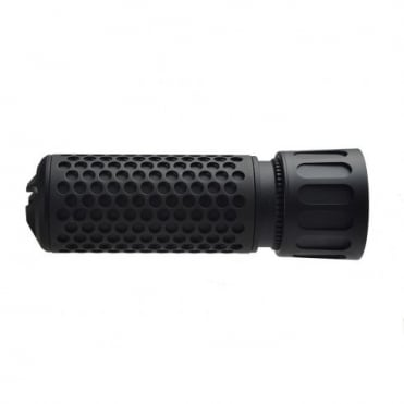 Knight's Armament Airsoft 556 QDC / CQB Suppressor (14mm CW) - Black