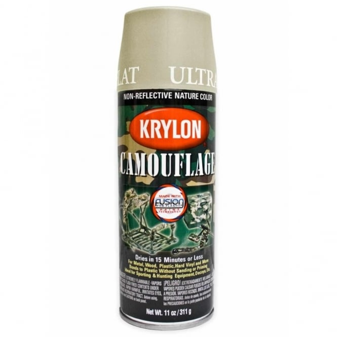 Krylon Spray Paint-Khaki