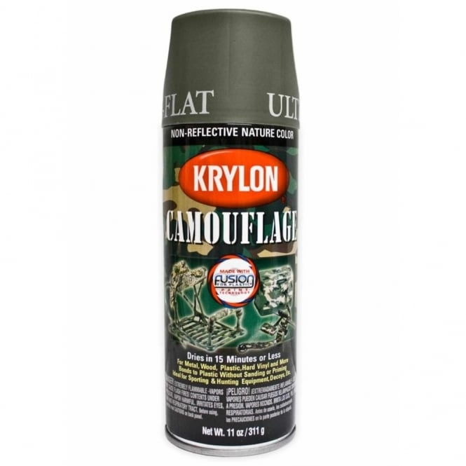 Krylon Spray Paint-Olive