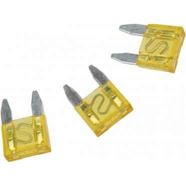 Krytac 20amp Replacement Blade Fuse - Set of 3