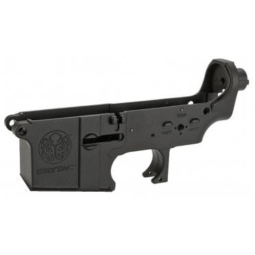 Krytac Alpha/LMG Enhanced Complete Lower Receiver Assembly - Black