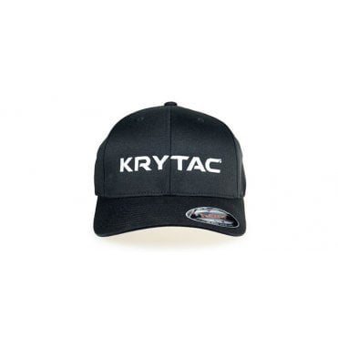 Krytac Embroidered Cap Black