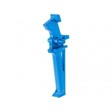 Krytac Licensed CMC Flat Trigger Assembly - Colour: Anodised Blue