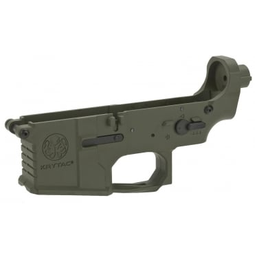 Krytac Trident MkII Complete Lower Receiver Assembly Foliage Green