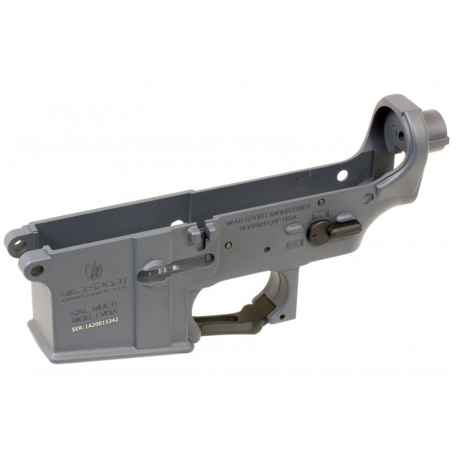 Krytac War Sport LVOA Lower Receiver Assembly Complete Combat Grey - No Ancilleries