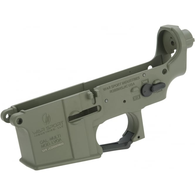 Krytac War Sport LVOA Lower Receiver Assembly Complete Foliage Green