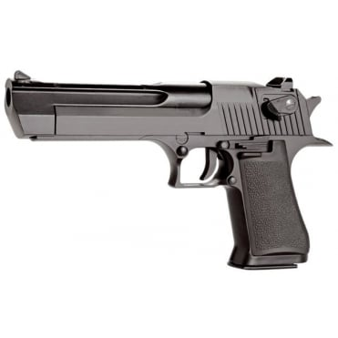 KWC .50 CAL Desert Eagle CO2 Blowback Black