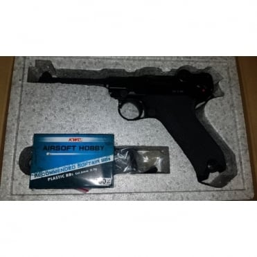 KWC P08 Luger CO2 Pistol - Display