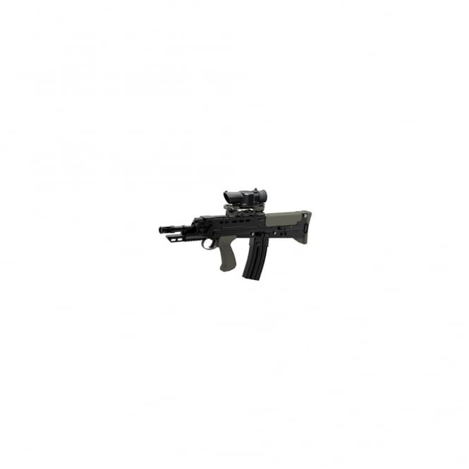 G&G Airsoft L85 AFV SA80 with free SUSAT Scope and Blowback