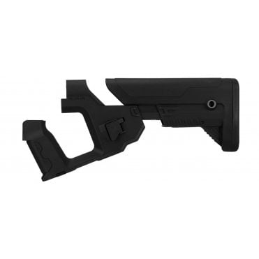 Lancer Tactical Alpha Stock for M4 AEG - Black
