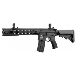 "Lancer Tactical LT-25 10"" Rail Hybrid AEG - Black"