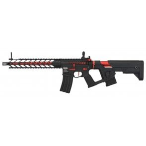 Lancer Tactical LT-33 Enforcer Proline Night Wing Skeleton GEN2 AEG - Red