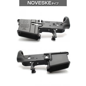 Laylax First Factory Next Generation M4 MG Metal Lower Frame - Noveske Type