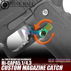 Laylax Nine Ball Heat Graduation Custom Neo Magazine Catch for Hi-Capa 4.3/5.1