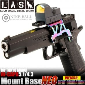 Laylax Nine Ball Heat Graduation Custom Neo Scope Mount Base for Hi-Capa 4.3/5.1