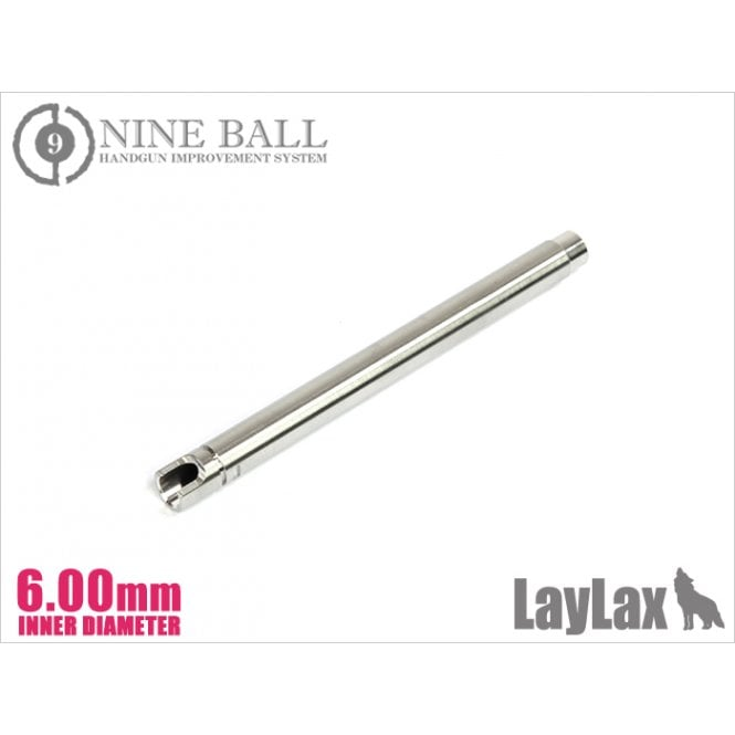 Laylax Nine Ball Power Inner Barrel (6.00mm) - G34 102mm