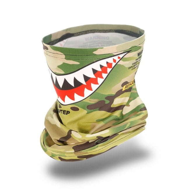 Laylax Slim Fit Cool Neck Gaiter - MC Shark Mouth