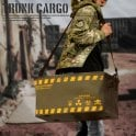 Laylax Trunk Cargo Model with Lid - OD/Yellow