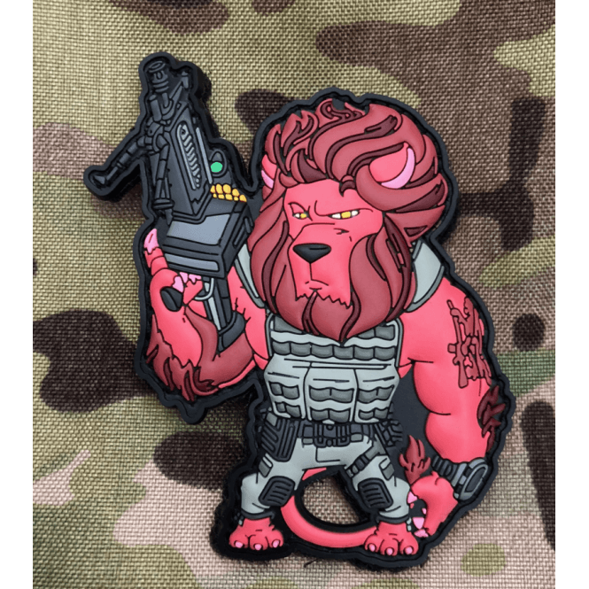 LWA Limited Edition LWA Lion Gunfighter Patch