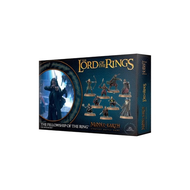 Games Workshop Lord of the Rings Fellowship Of The Ring Model Set