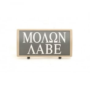 Custom Rail Panel Molon Labe - Dark Earth