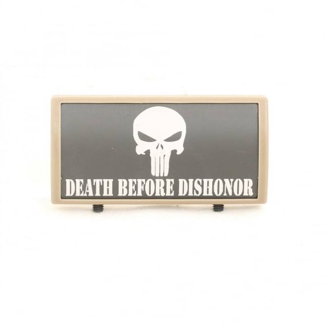 LWA Custom Rail Panel Punisher Death Before Dishonor - Dark Earth