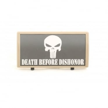 Custom Rail Panel Punisher Death Before Dishonor - Dark Earth