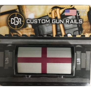 Custom Rail Panel-St Georges Flag