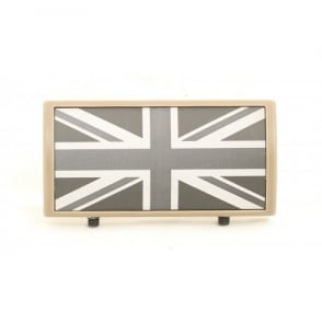 Custom Rail Panel Union Jack - Dark Earth