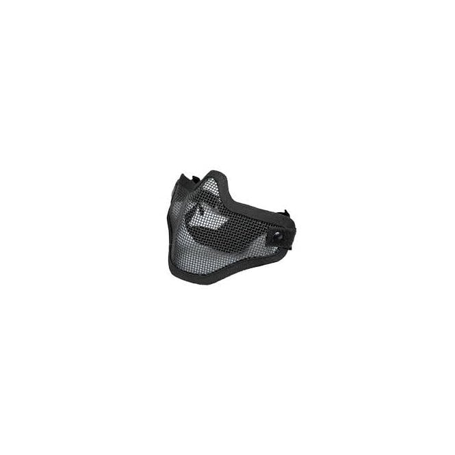 LWA Mesh Lower Face Protection Mask - Black