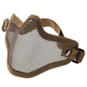 LWA Mesh Lower Face Protection Mask - Dark Earth