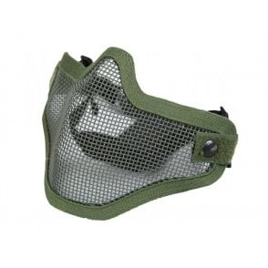 LWA Mesh Lower Face Protection Mask - Olive Green