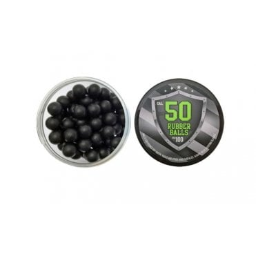 LWA Rubber Ball 0.50 Calibre Box of 100