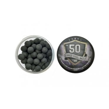 LWA Rubber-Steel Ball 0.50 Calibre Box of 100