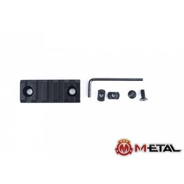 M-etal 5-Slot M-LOK Aluminium Rail Section