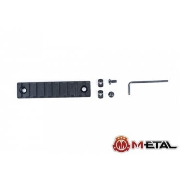 M-etal 9-Slot M-LOK Aluminium Rail Section