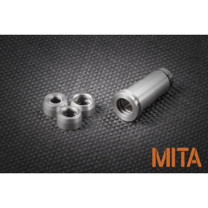 M.I.T. Airsoft Adjustable Stainless Steel Nozzle for M4